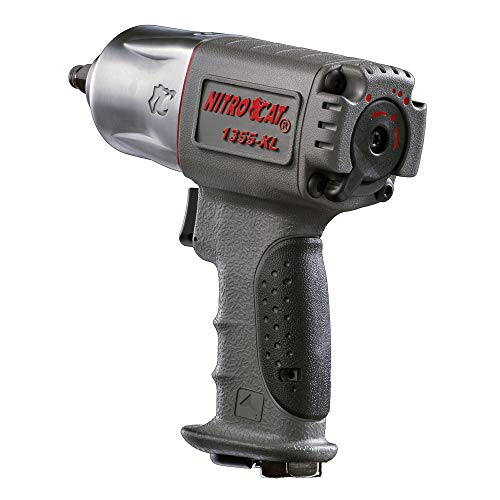 NitroCat 1355-XL 3/8-Inch Composite Air Impact Wrench...