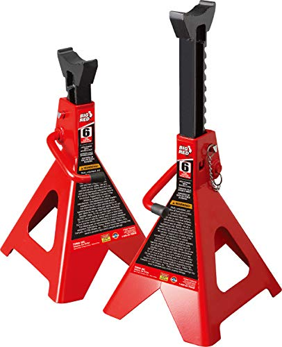 BIG RED T46002A Torin Steel Jack Stands: Double...