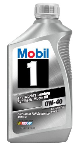 Mobil 1 96989 0W-40 Synthetic Motor Oil - 1 Quart (Pack...