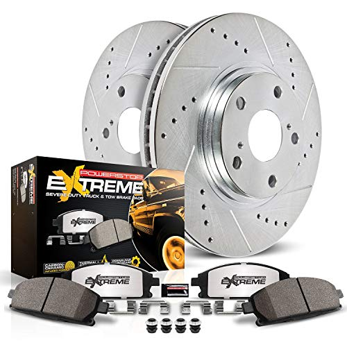 Power Stop K6403-36 Front Z36 Truck and Tow Brake Kit