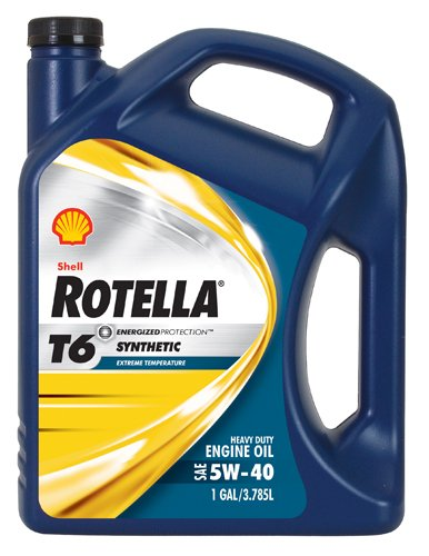 Shell Rotella T6 Full Synthetic Heavy Duty Engine Oil...