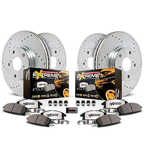 Power Stop K1906-36 Front & Rear Z36 Truck and Tow...