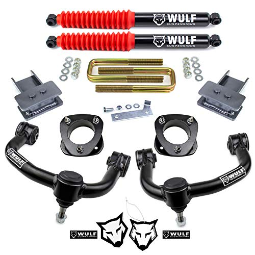 WULF 3' Front 2' Rear Leveling Lift Kit with Control...