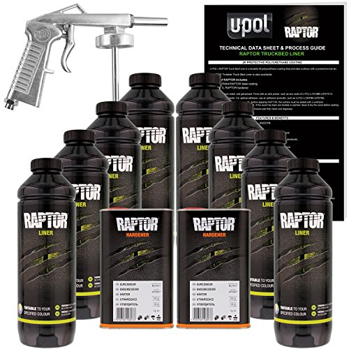 U-POL Raptor Tintable Urethane Spray-On Truck Bed Liner...