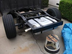 Are rear-mounted gas tanks safe